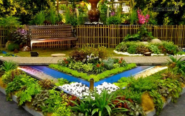 Ландшафт для сада и огорода своими руками 40