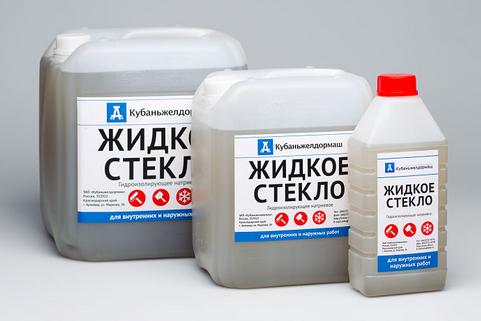 Как сделать смесь из жидкого стекла и цемента