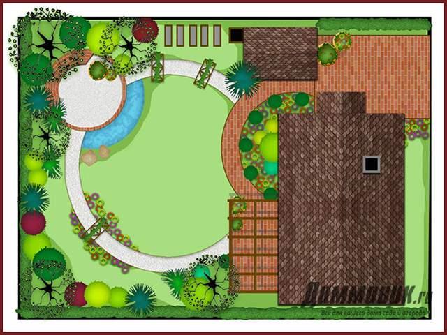Конструкция и дизайн дома и участка
