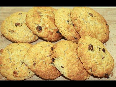 Овсяное печенье простой и вкусный