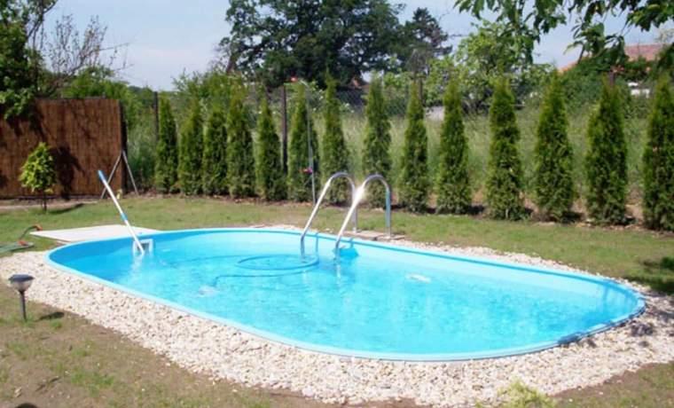 Как обустроить каркасный бассейн на даче собственноручно