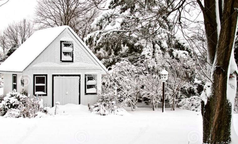 Как задержать снег