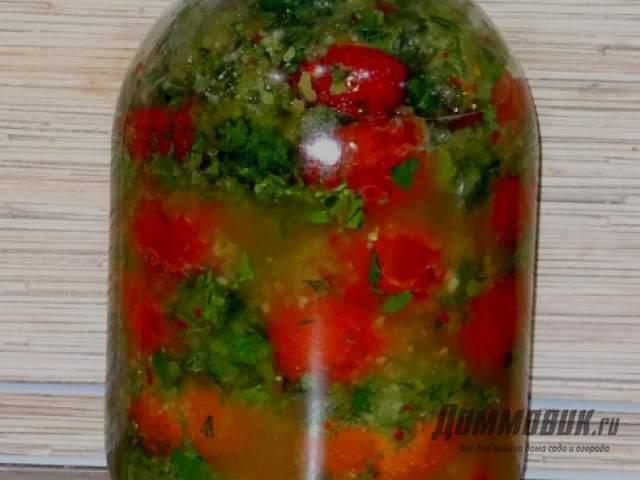 Рецепт вкусных помидор по корейски на зиму