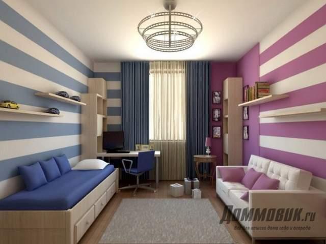 Дизайн маленькой спальни для детей