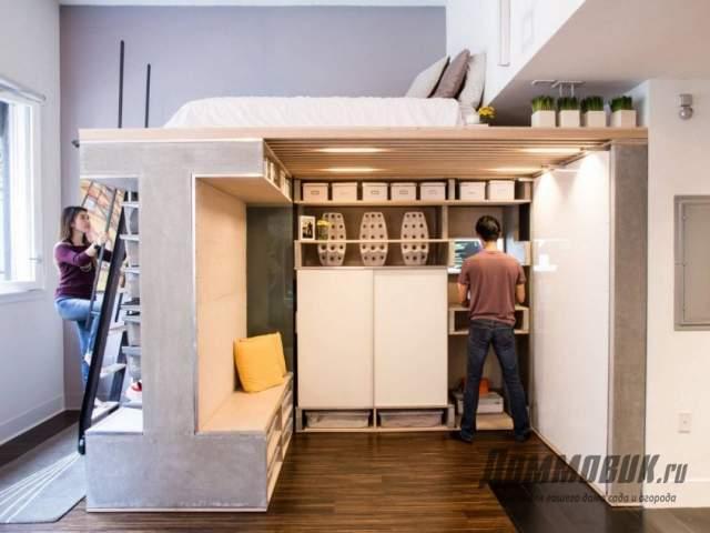 Дизайн маленькой спальн