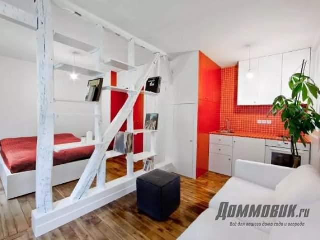 Дизайн однокомнатной квартиры - перепланировка