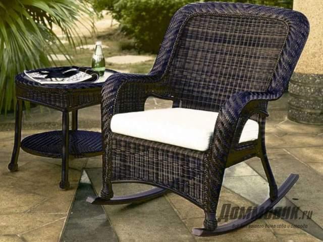 Садовая мебель из ротанга кресло