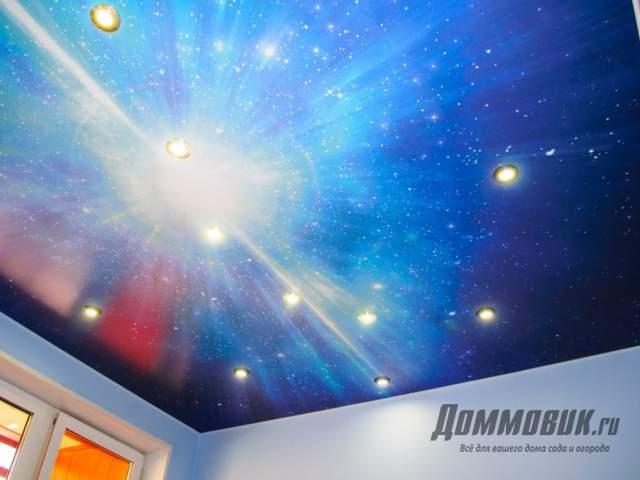 Какой потолок лучше глянцевый или матовый