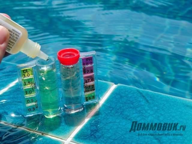 Как очистить бассейн на даче своими руками быстро и эффективно