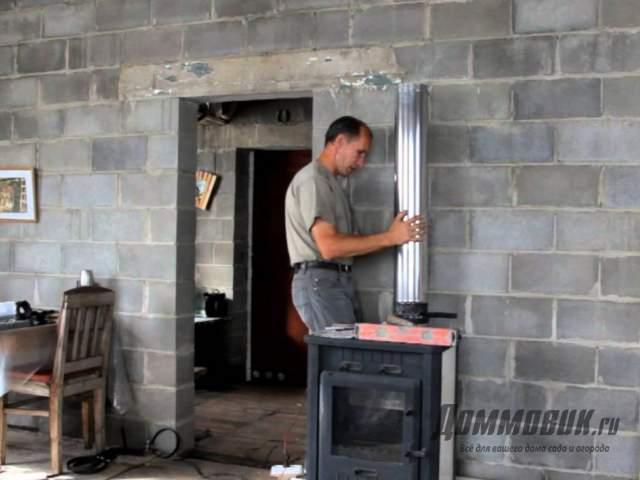 Установка камина на даче своими руками возможна ли