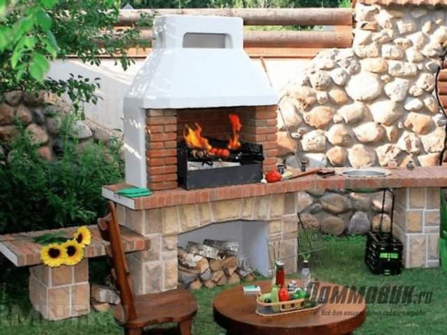 Как обустроить зону барбекю на даче или в частном доме