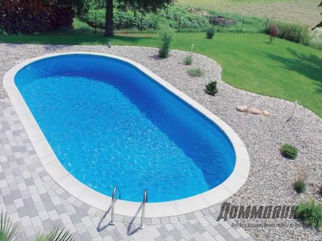 Оформление бассейна на даче фото готового варианта