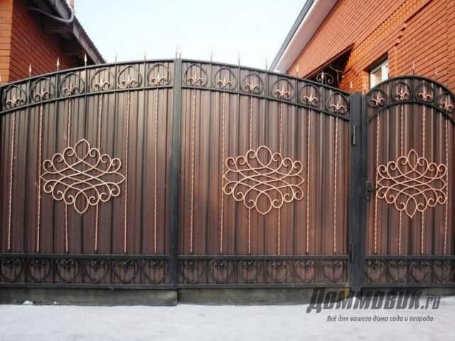 ворота и калитки для частного дома