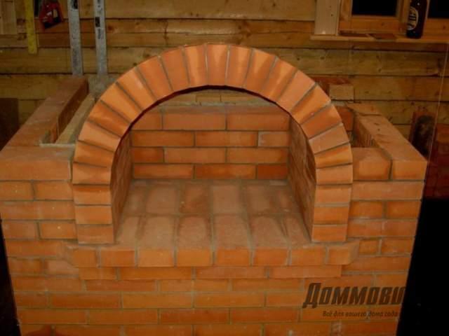 Печи арки камины - как сделать