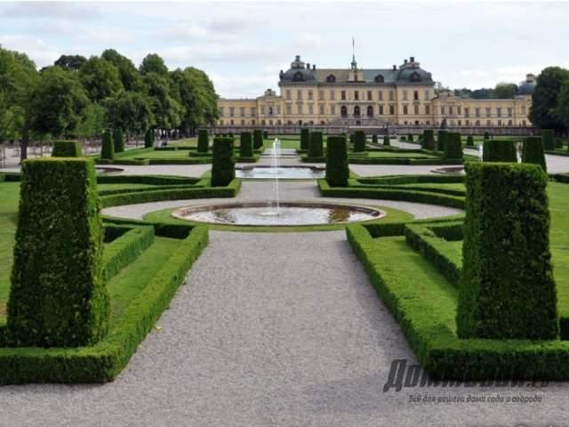 королевский парк в Швеции