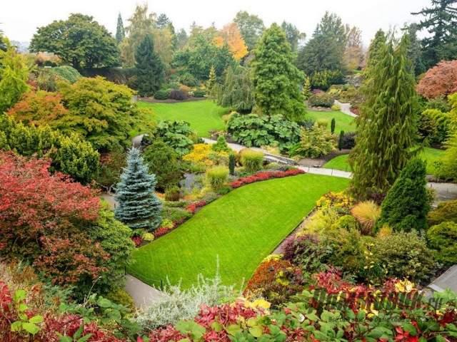 парк королевы Елизаветы в Ванкувере