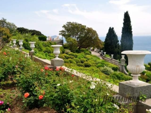 сад в Алупке, Крым
