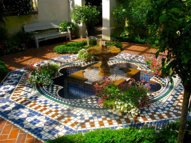Восточный сад