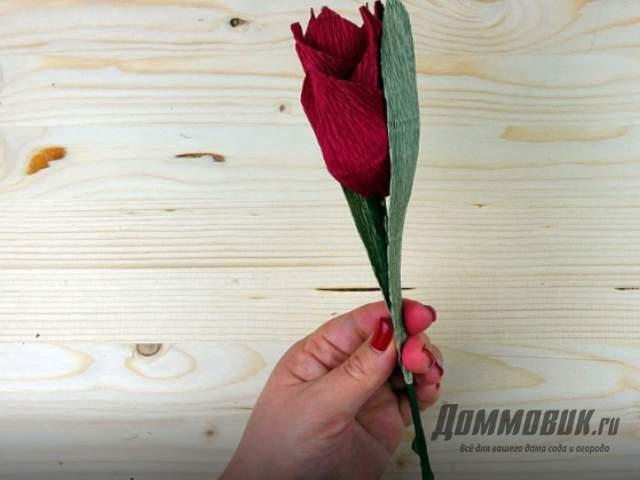 Цветок для конфетного букета