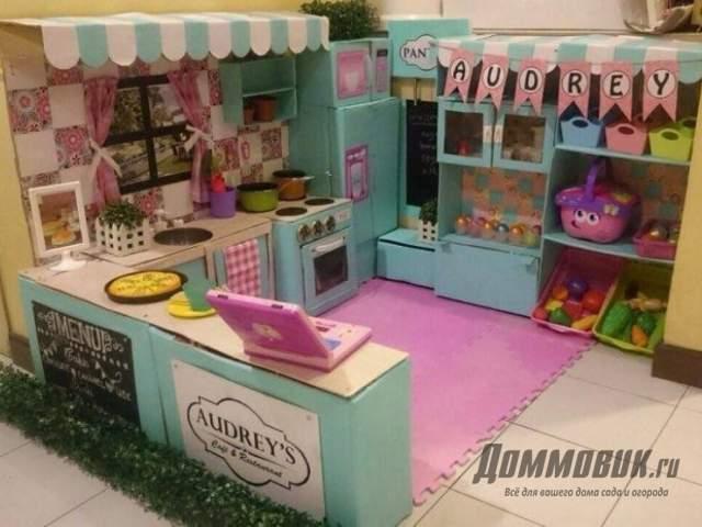 большая кухня для девочки