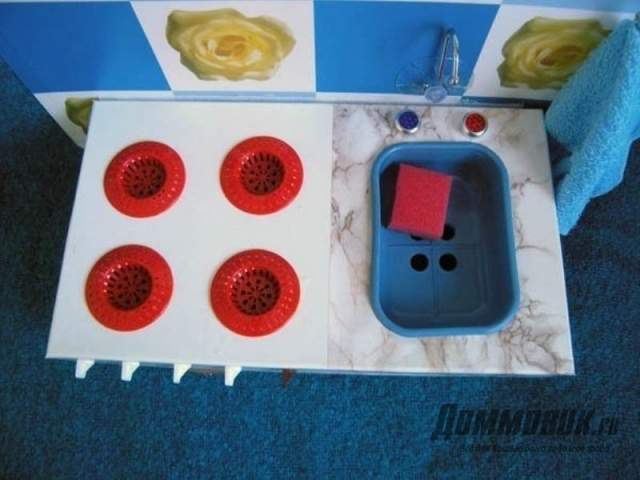 игрушечная плита и мойка