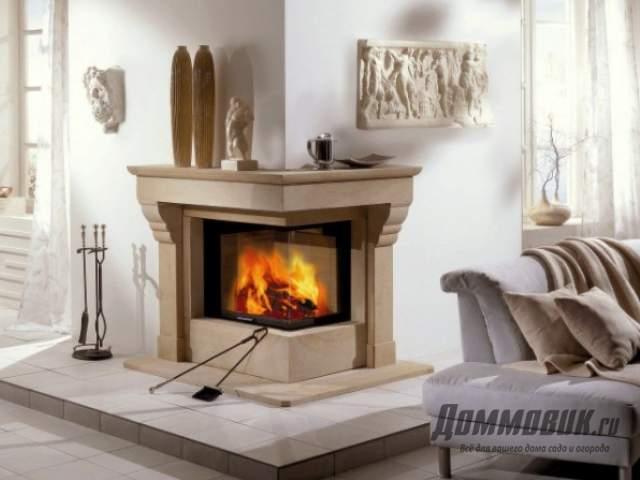 Дизайн классического камина