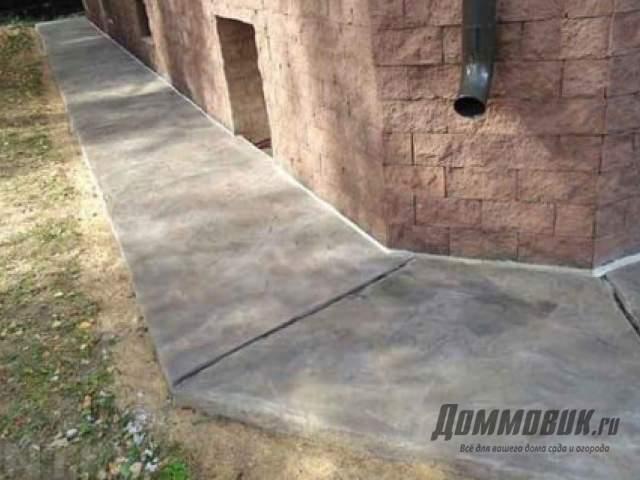 Какой цемент лучше для отмостки