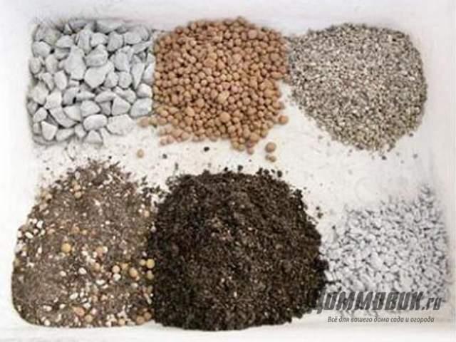 компоненты грунта для кактусов