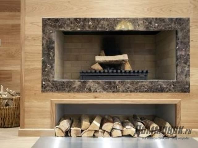 Камин для деревянного дома