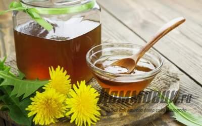 Как делают мед из одуванчиков