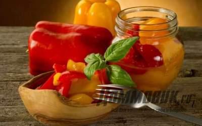Вкусные и простые рецепты заготовок перца на зиму