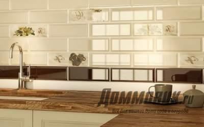 Плитка кабанчик на кухне: стильная и функциональная простота