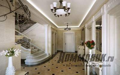 Дизайн прихожей: идеи оформления комнаты в частном доме