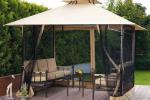 Дачные павильоны и шатры газебо для отдыха