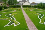 Партерный газон – зеленый оазис совершенства в саду