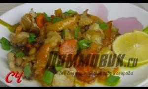 Embedded thumbnail for Рецепт тушеной рыбы с овощами