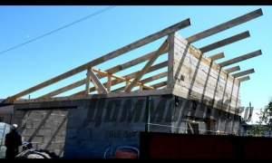 Embedded thumbnail for Как построить односкатную крышу