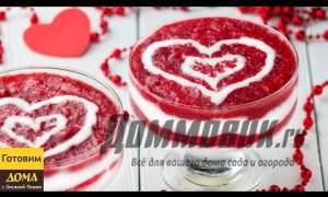 Embedded thumbnail for Десерт с клубникой