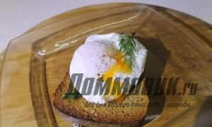 Embedded thumbnail for Как приготовить яйцо пашот
