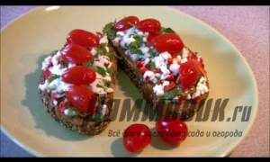 Embedded thumbnail for Рецепт диетического бутерброда