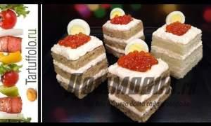 Embedded thumbnail for Бутерброды с семгой на праздничный стол