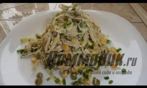 Embedded thumbnail for Рецепт салата с яичными блинчиками