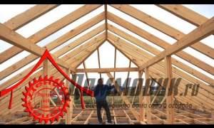 Embedded thumbnail for Вальмовая крыша своими руками