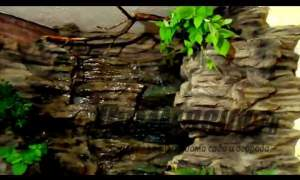 Embedded thumbnail for Искусственный водопад в интерьере.Maksim Mascaron. Беларусь