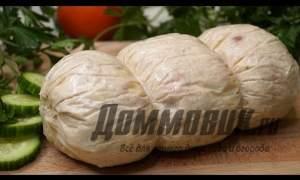 Embedded thumbnail for Куриная колбаса домашний рецепт