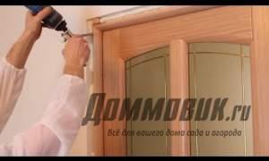 Embedded thumbnail for Правильная установка межкомнатной двери
