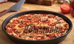 Embedded thumbnail for Как приготовить вкусную пиццу на сковороде за 5 минут