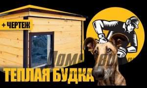 Embedded thumbnail for Теплая будка для собаки с подогревом