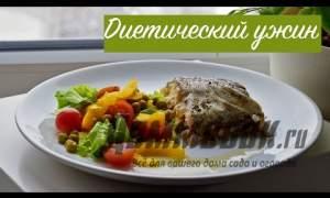 Embedded thumbnail for Запеченная форель с овощами
