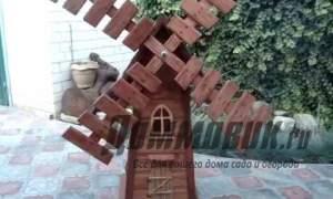 Embedded thumbnail for Мельница для сада